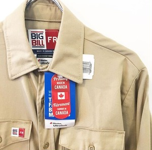 BIG BILL : 「FLASHTRAP VENTED SHIRT」 (brand new)