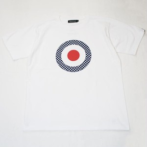 CHECKER TARGET T-SHIRT  White