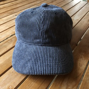 gingerandsprout コーデュロイ キャップ (navy)