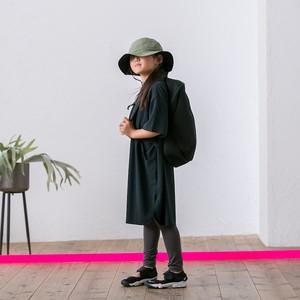 MOUN TEN.  seed stitch dress (black)110 125 140 [MT201015-a]※メール便可
