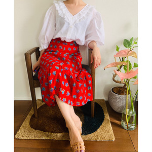 Blouse and Skirt Style SET