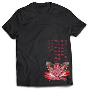 【SALE】Tシャツ【蓮蝶】(Black)