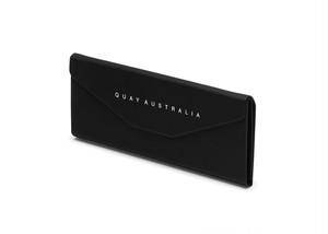 QUAY AUSTRALIA  キー オーストラリア HARD CASE(折り畳みマグネットケース) BLK