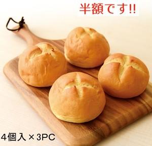 【半額SALE】国産米粉のラケルパン(ラケルリズパン) 4個入×3PC