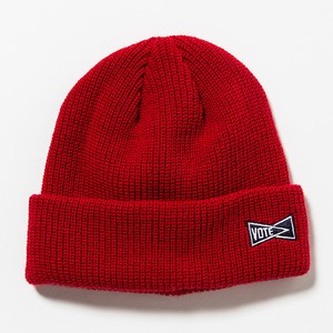 VOTE SIDE LOGO BEANIE - RED