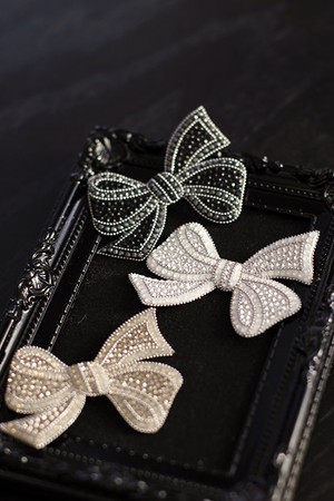 【Brooch】Classical Bow Brooch
