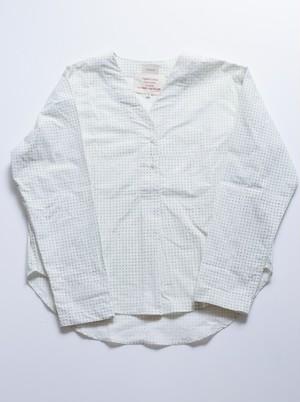 "A.Dupré ""V-neck Pullover""[block print]"