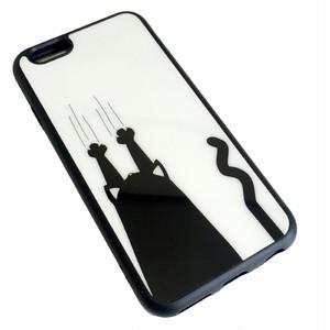 iPhone6 / 6s ソフト ケース ( ひっかき猫 ) bpab048