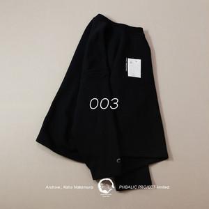 ARCHIVE_NAKAMURA KAHO Wide sweat  [ Black ]_003