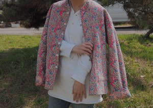AMERICA reversible quilting jacket