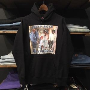 【SUPREME × RAP-A-LOT】-シュプリーム-SS17 HOODED SWEAT SHIRT BLACK