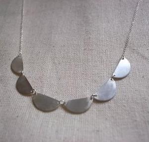 フリル ネックレス frill necklace