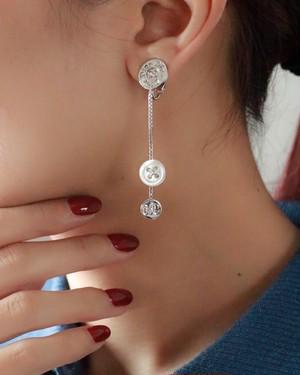 Christian Dior button earrings