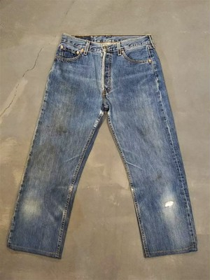 LEVI'S 501 denim pants W30 /Made In USA [450]