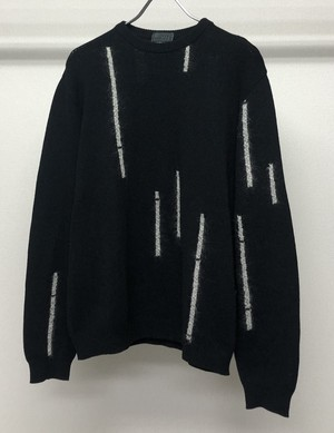 1990s GIANNI VERSACE MIXED MEDIA SWEATER