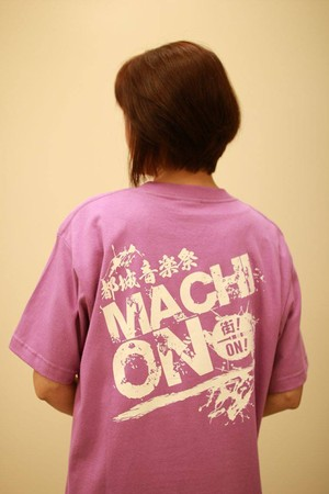 まちおんTシャツ紫(残りはMサイズ1枚のみ!)