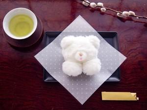 <3/31まで受注受付中>  「元祖ペヘモリッケ焼(ホワイトチョコ味)」ブローチ/バレッタ