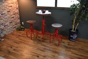 Smoky Bar Table RD / ヴィンテージスタイル スモーキー バーテーブル / レッド