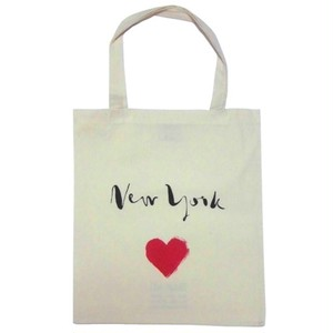 Bag all エコバッグ ニューヨーク ハート 折りたたみ トート 布製 a4 入る 可愛い 肩掛け 折り畳み たて型 レディース たたみやすい