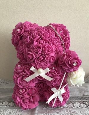 ローズベアー ローズの香り付き ピンク