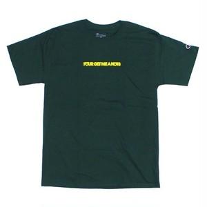"""Initial logo"" T-shirt Dark Green"