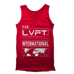 LIVE FIT International Tank - Red