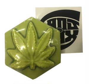 GANJ WAX / LUMINOUS GREEN[GROW IN DARK] / L