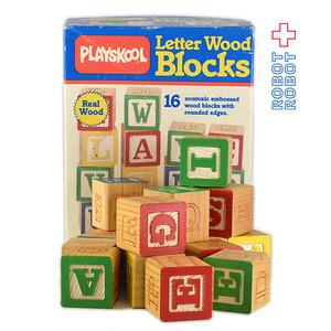 トイストーリー 木製アルファベット積み木 箱付