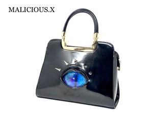 cat eye shoulder & handbag(enamel)/  blue marble