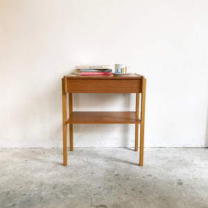 Vintage Teak Bedside Table  1970's スウェーデン