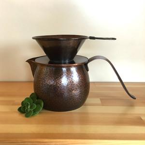 銅製 コーヒードリッパー・サーバーセット