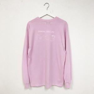 TRASH L/S TEE(LIGHT PINK)