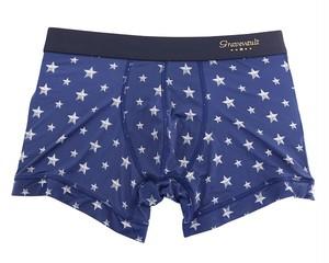 【gravevault】Star Studs ネイビー×シルバー / 3051212 グレイブボールト メンズ ボクサーパンツ