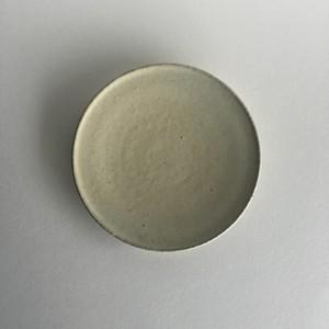 フラット皿(小)(アイボリー)