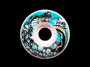 ROAD CREW WHEELS / FORMULA CLASSIC / 55mm / 101a/ [ artist Fatchris Adams ]