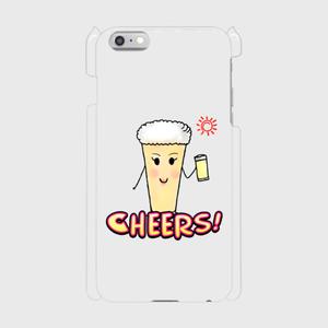 乾杯ビールちゃんiphone6/6sPlus スマフォケース