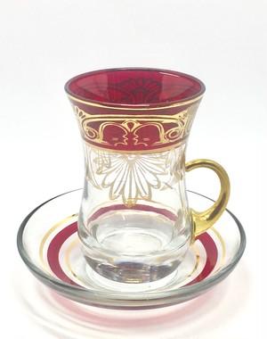 ◆レコルト◆チャイグラス  インペリアルレッド