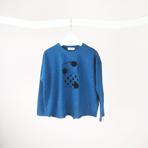 SLASH BEAR L/S TEE / WOMEN