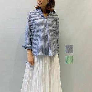 MICA&DEAL(マイカアンドディール)リネン2wayシャツ 2021春夏物新作[送料無料]