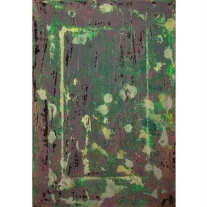 「無題」 キャンバスにアクリル * 現代美術 アート作品 絵画 抽象画 内野隆文 takafumiuchino