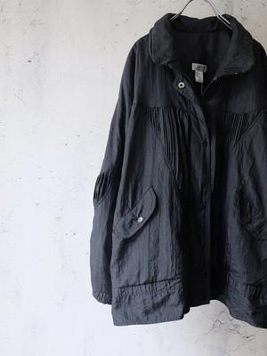 nylon solid jacket