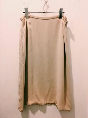"""""""HERMES"""" Silk Skirt"""