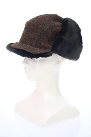 シャーロックホームズ風帽子【ブラウン】