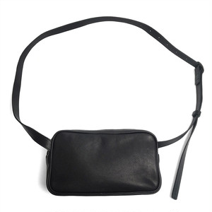 203ABG02 Leather shoulder bag 'double zip' ショルダーバッグ