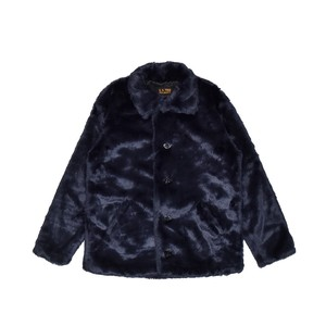 EXAMPLE x SCHOTT FUR JACKET / NAVY