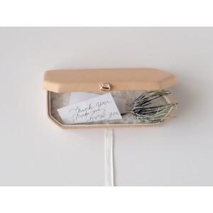 ・トコ革の貼ばこ・細長6角形 ●現品販売