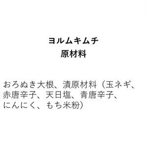 ヨルムキムチ(350g)