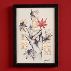 Art print  Fall 秋  by Masa