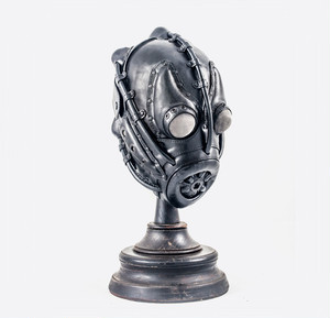 Art Leather Gas Mask