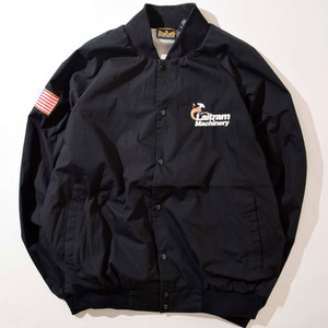 【XLサイズ】LAITRAM MACHINERY VARSITY JACKET ジャケット BLK ブラック XL 400610200228